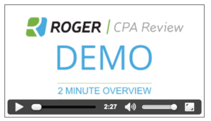 Roger CPA fast pace video lectures
