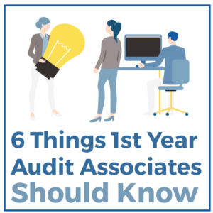 6 Thinks 1st Year Audit Associates Should Know