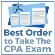 Best ORder to Take The CPA Exam