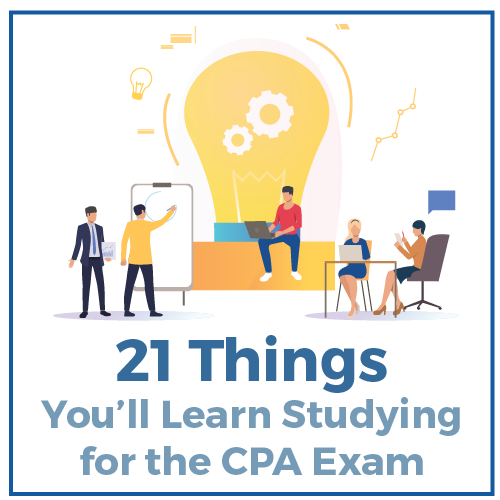 21 Things You'll Learn Studying for the CPA Exam