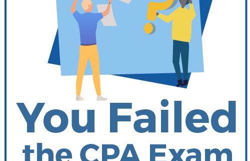 You Failed the CPA Exam - Now What?